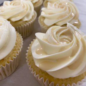 Caribbean Eggnog Cupcake