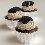 Vegan Chocolate Oreo Cupcake