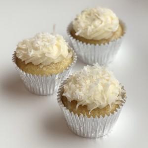 Vegan Lemon Coconut Cupcake