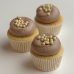 Vanilla Milk Chocolate Cupcake