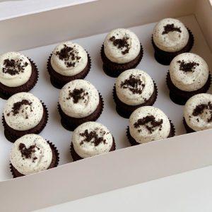 Mini Chocolate Oreo Cupcake