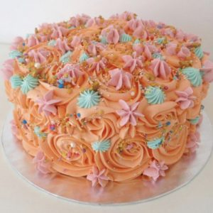 Funky Piped Cake 20cm