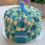 Funky Piped Cake 15cm