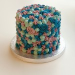 Funky Piped Cake 10cm