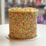 Sprinkles Cake tall 15cm
