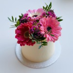 Flower Cake 10cm smooth
