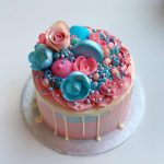 Deluxe Gender Reveal Cake