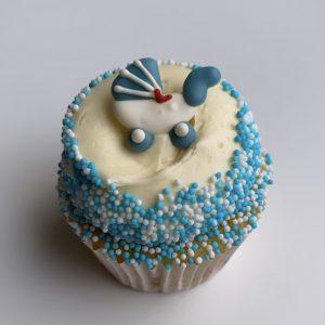 Baby Blue Cupcake