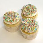 Vanilla Sprinkles Cupcake