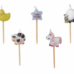 Candle set – ANIMAL BIRTHDAY
