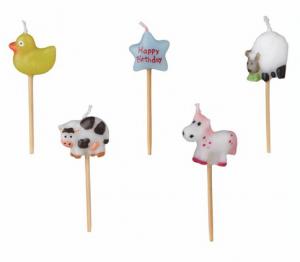 Animal Birthday Candles