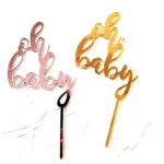 Cake topper – OH BABY