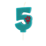 Number Candle – 5