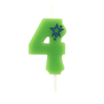 Number Candle – 4