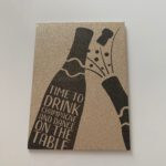 Drink Champagne Card