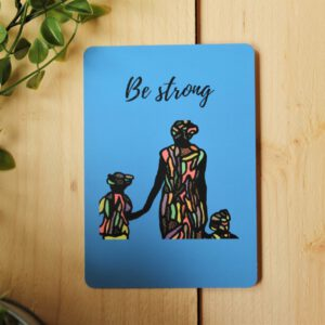 Be Strong Art by Sha