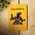 Congratulations Card – Art by Sha