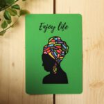 Enjoy Life Card – Art by Sha