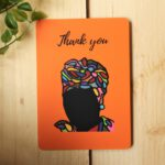 Thank You Card – Art by Sha
