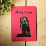 Thinking of You Card – Art by Sha