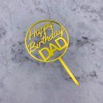 Cake Topper – Birthday DAD