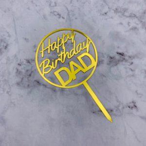 Birthday DAD topper