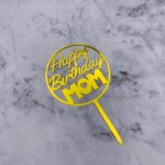 Cake Topper – Birthday MOM