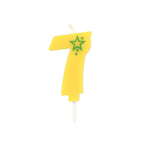 Number Candle – 7