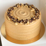 Chocolate Peanut Butter Cake VEGAN