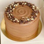 Vanilla Milk Chocolate Cake