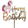 Topper Unicorn Birthday